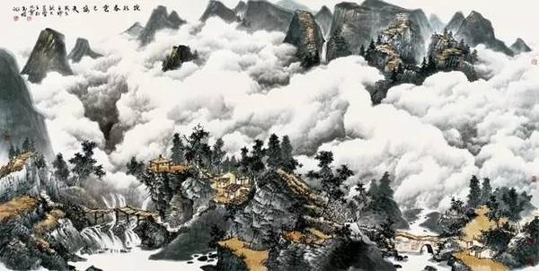 中国书画报-典藏丨观云烟幻化 看山魂欲出 北海之宋家云山