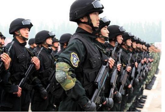 武警部队训练-阅兵巡礼 传承英雄番号的英模徒步方队图片