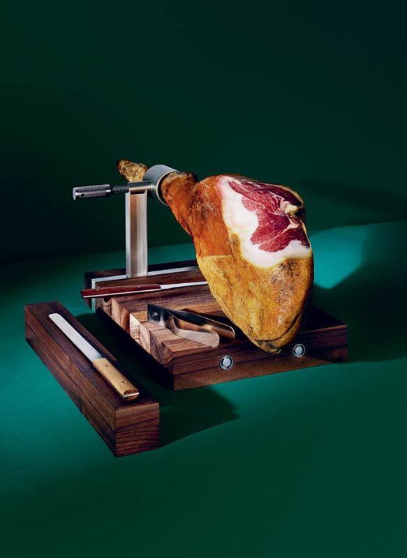 皮埃罗·里索尼的意大利火腿切割器