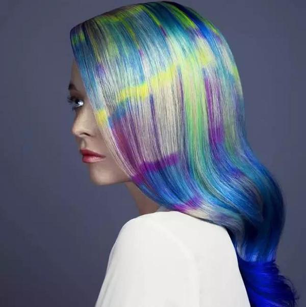 发型的颜色艺术图片