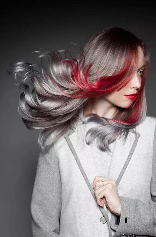 发型的颜色艺术_搜狐时尚_搜狐网图片