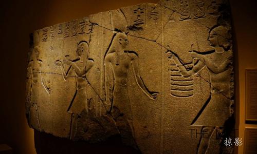 埃及馆内的浮雕-THE MET掠影 大都会掠影 东西图片