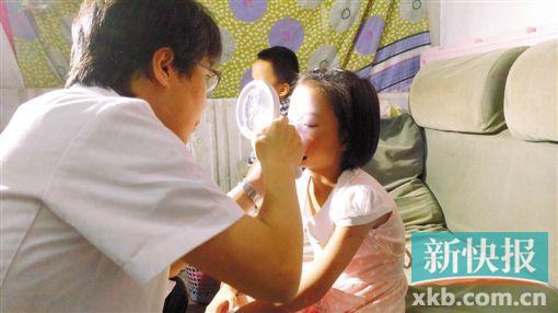7岁女童家门口惨遭生疏男割伤面部