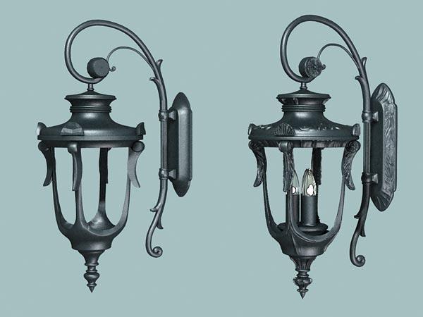 古典创意设计:3dsmax打造精美欧式奶油图片壁灯盆栽生菜图片