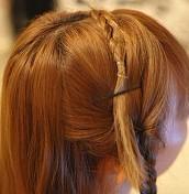 精致编发做发带,打造柔美的古典美人 !图片
