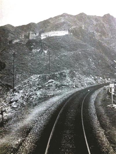 孙明经在1937年6月30日拍摄的青龙桥火车站