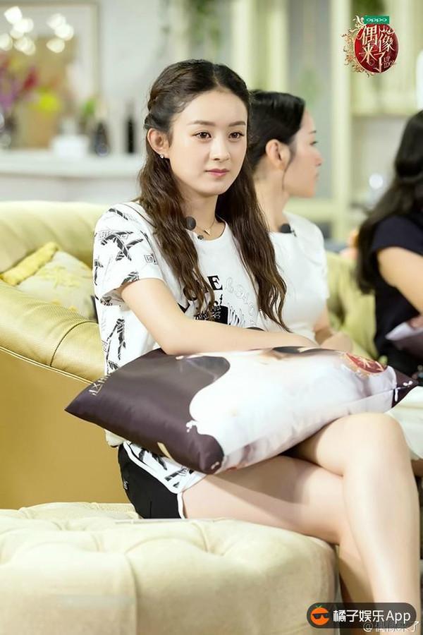 娱乐 正文  赵丽颖登上了昕薇封面,波西米亚风演绎的美美的.图片