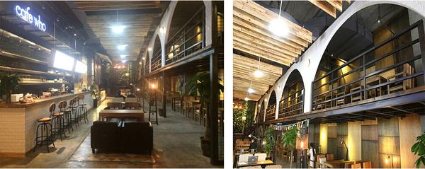 新中式西餐咖啡厅装修设计案例图片