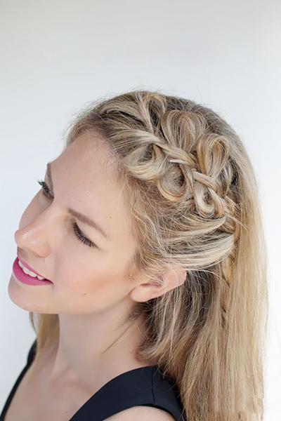 蝴蝶结编发造型图解别具一格的发型创意发型刘德华无间道图片