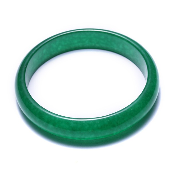 肉眼即可看内部结构特殊 其他的假冒翡翠 绿色石榴石珠串