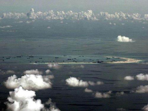 资料图:中国南海。
