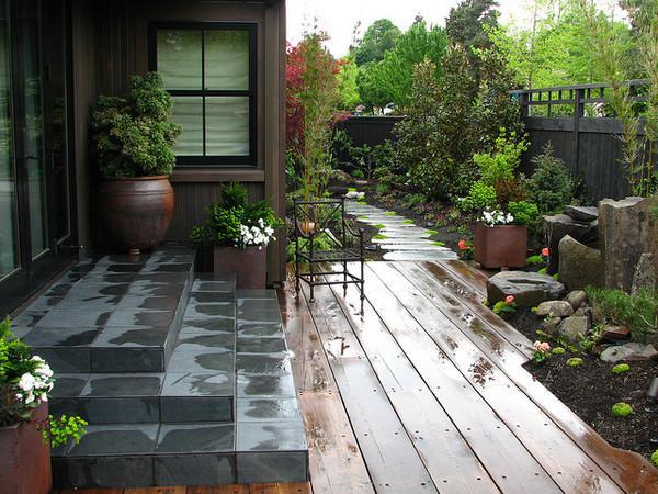 有了这个,农村院子都能变 别墅庭院图片