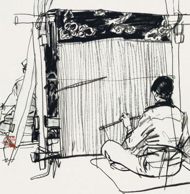 史国良——当代最具贡献书画家献礼70周年大阅兵(组图图片