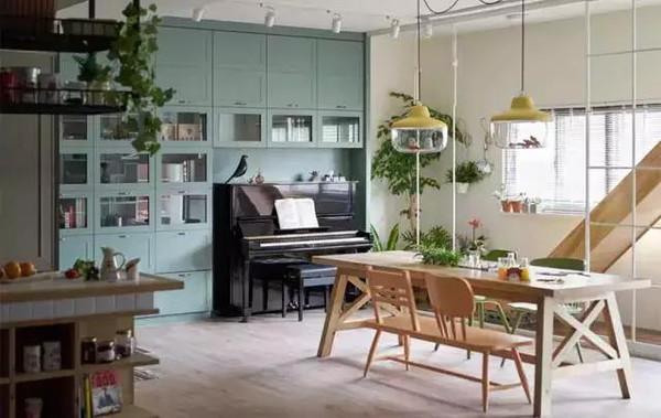 钢琴书房装修效果图