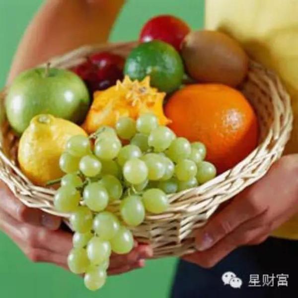 秋季水果蔬菜营养冠军榜