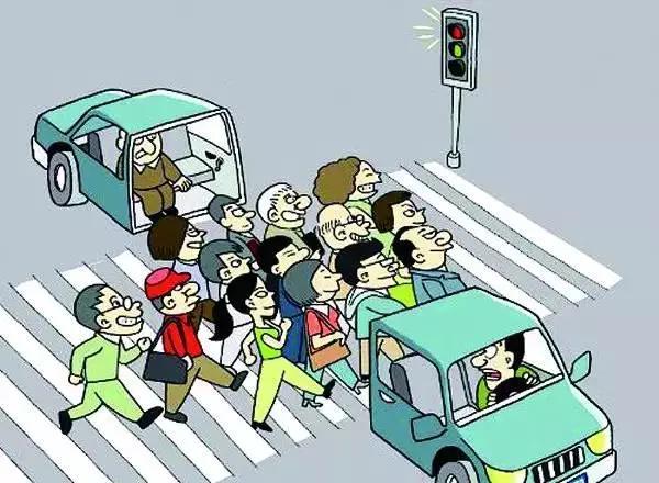 行人闯红灯被撞保险公司赔吗 行人闯红灯车祸保险赔吗图片