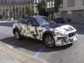 [海外新车]玛莎拉蒂Levante SUV伪装路试