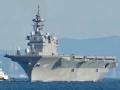 日本准航母加贺号下水