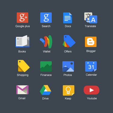 """在搜索框中输入关键词后,在结尾需加上apps字样,系统将自动搜寻与之相关的所有应用,并以九宫格的形式展现结果,界面背景将自动适应应用图标的颜色,看上去更加优雅美观。点击""""更多""""后,界面变为完整的应用格样式,"""