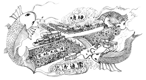 还有一条京杭大运河
