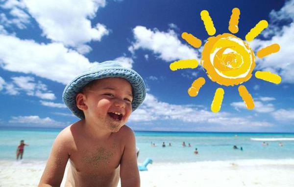 孩子吃过这些食物晒太阳可能引发日光性皮炎