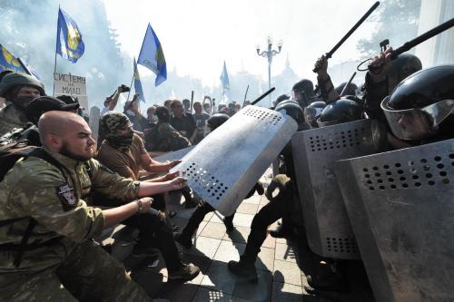 冲突_乌克兰发生暴力冲突事件(图)