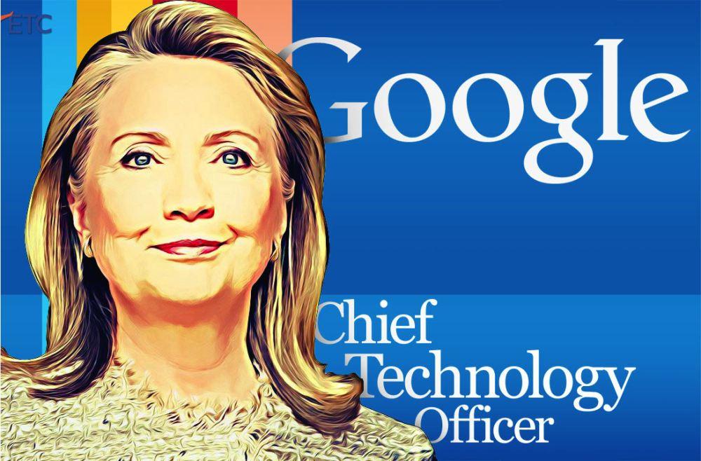 共和党最怕的不是希拉里 是谷歌组图