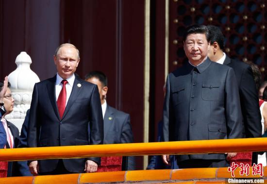 习近平会见普京 中俄签署二十余项合作协议