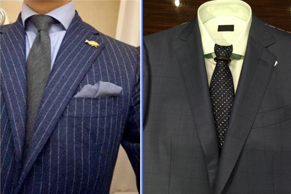 正装 衬衫 领带的搭配