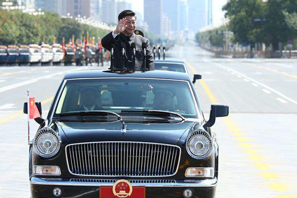 兵都乘什么车 红旗竟没这款美国车早高清图片