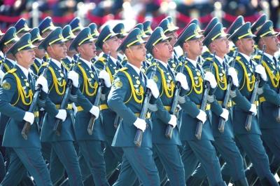 哈萨克斯坦方队