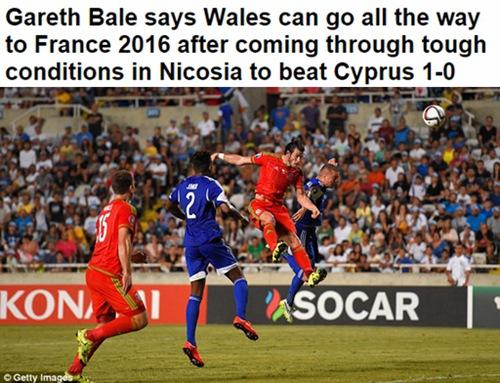 威尔士距离创造历史仅一步之遥
