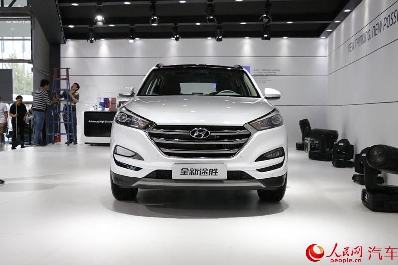 15成都车展 北京现代全新途胜 组图高清图片