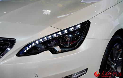 东风标致408 荣耀版上市 售16.17万元(组图)