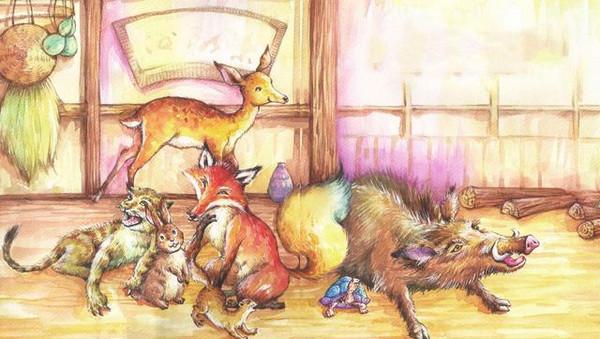 童话 红蜡烛与狐狸的差事