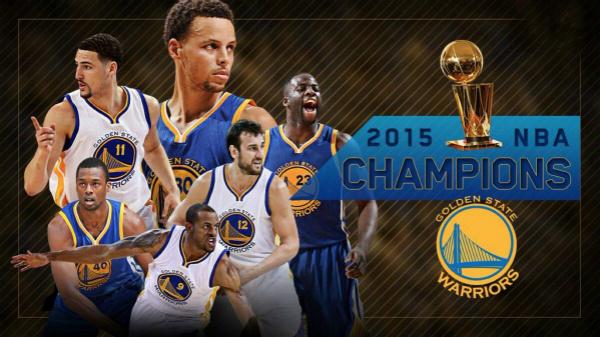 NBA消息 勇士训练馆升总冠军旗帜