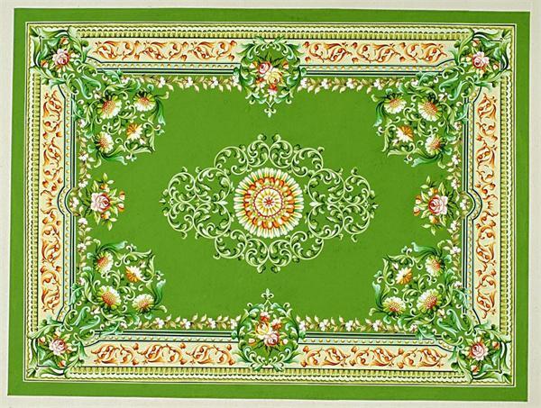 怎样挑选地毯的图案纹样?