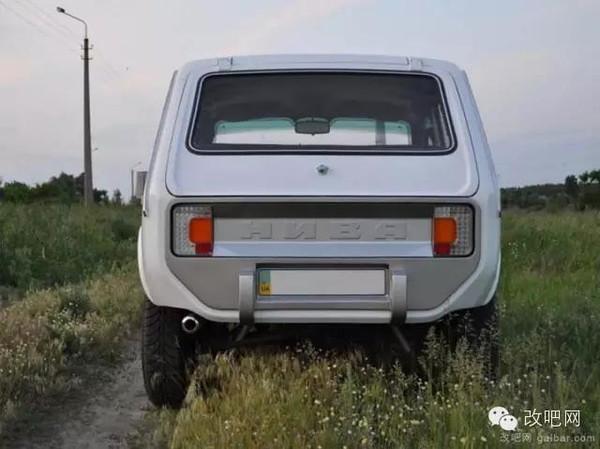时尚范儿 罕见拉达Niva汽车改装赏析高清图片