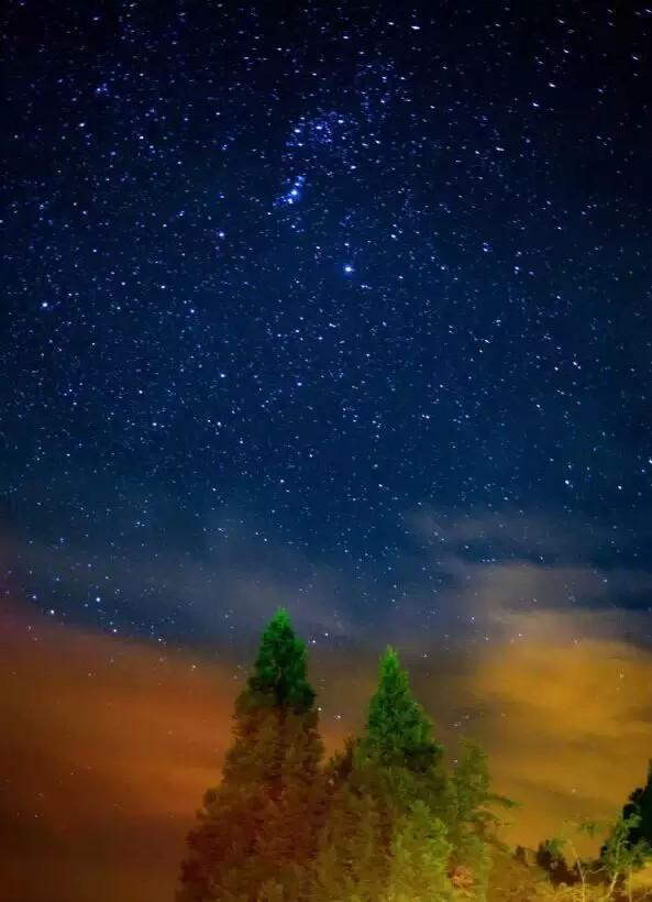 夜晚的银河,冬天还能看到雪景.-台湾已经OUT了 是你不知道这些小