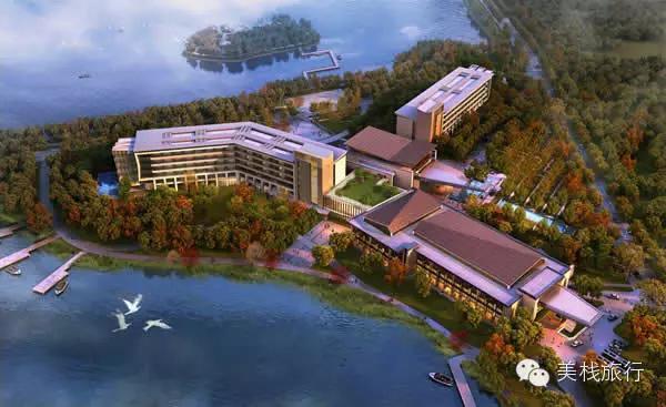 酒店位于南通新城区滨江公园内,建筑面积近70000平方米,设有320间