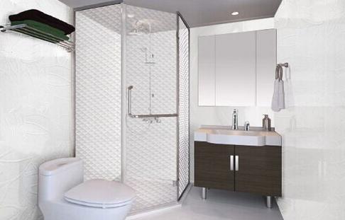 整体卫浴效果图展示