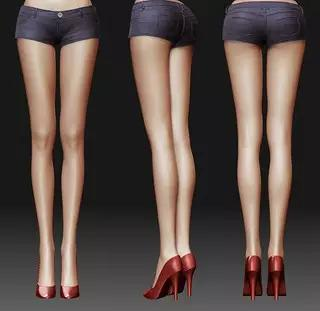 女生标准腿型是怎样的?
