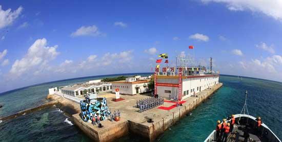 资料图:中国海军已建立南海常态化战备巡逻机制。