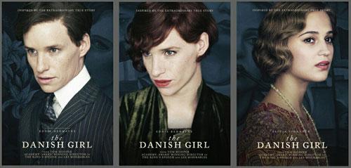 埃迪-雷德梅恩在《丹麦女孩》中变装出境,演绎内里住着一个女人的男人