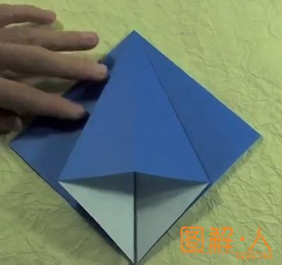 纸百合花折纸图解教程