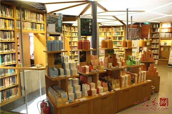 茶叶货架图片