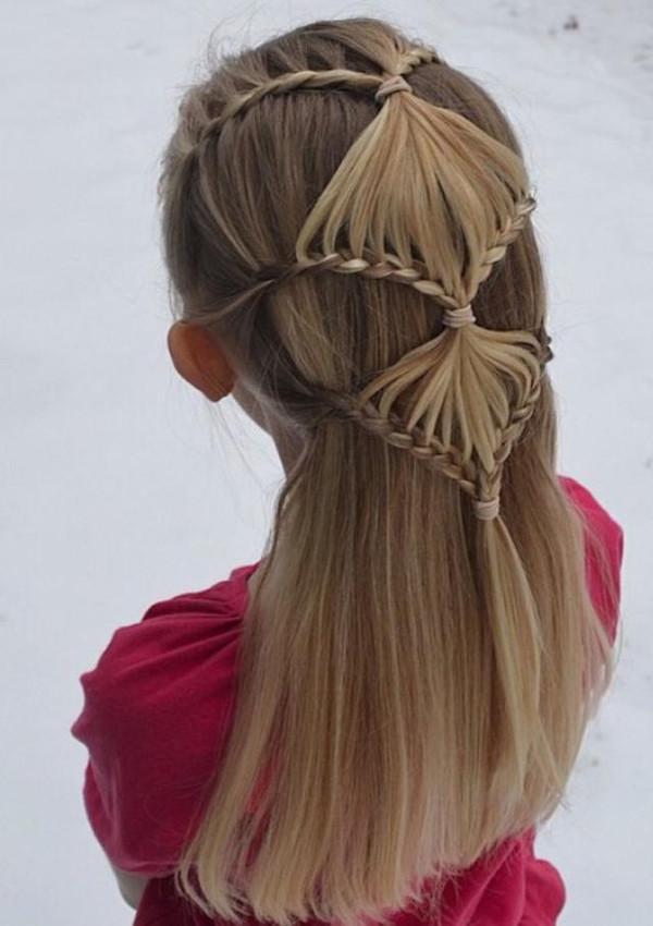 给女儿扎这些发型,美得让所有小朋友都羡慕她!图片
