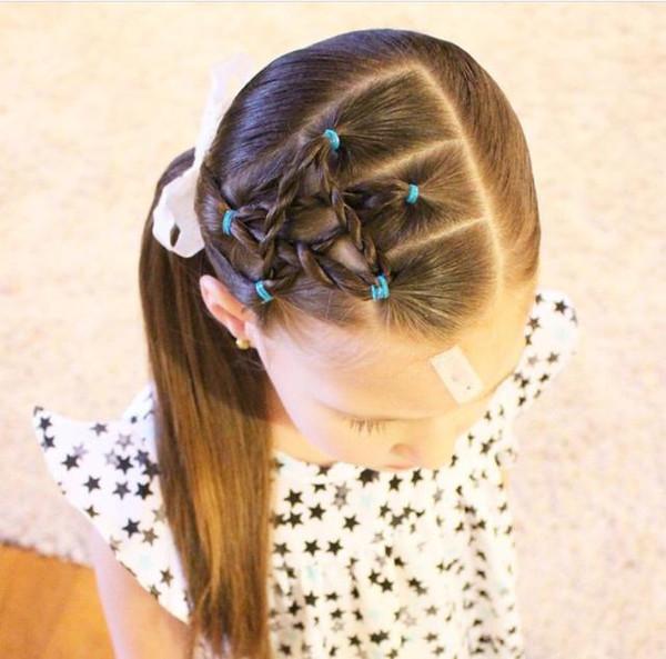 小编编发了15款长发分享,这样扎个图片,萌萌哒!s中发型中大v长发小孩图片