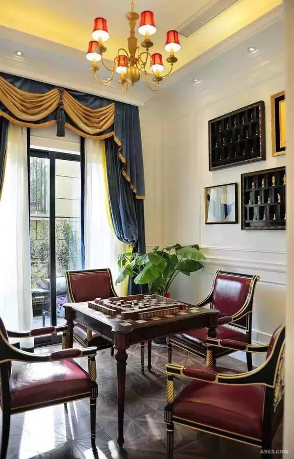 绚丽法式别墅装修效果图案例欣赏