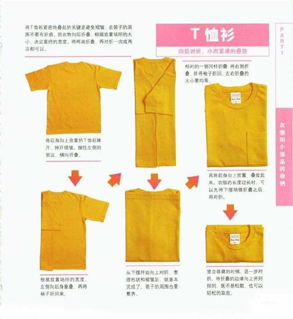 如何叠衣服?